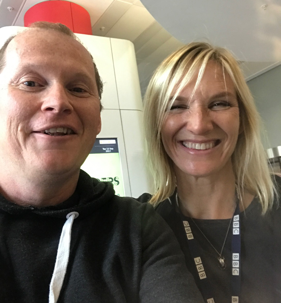 jo whiley & neil brophy